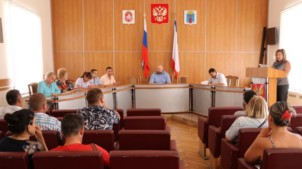 В Феодосии состоялось заседание административной комиссии