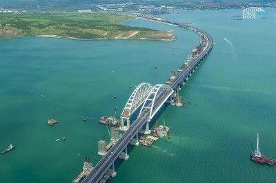 Нарушитель установил рекорд скорости на Крымском мосту