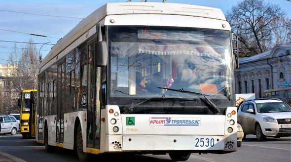 «Крымтроллейбус» восстановит к декабрю три маршрута в Симферополе