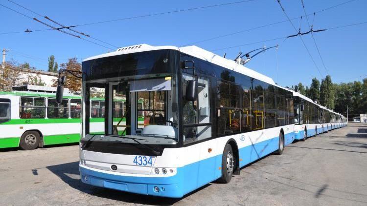 Работу трёх троллейбусных маршрутов к концу года возобновят в Симферополе