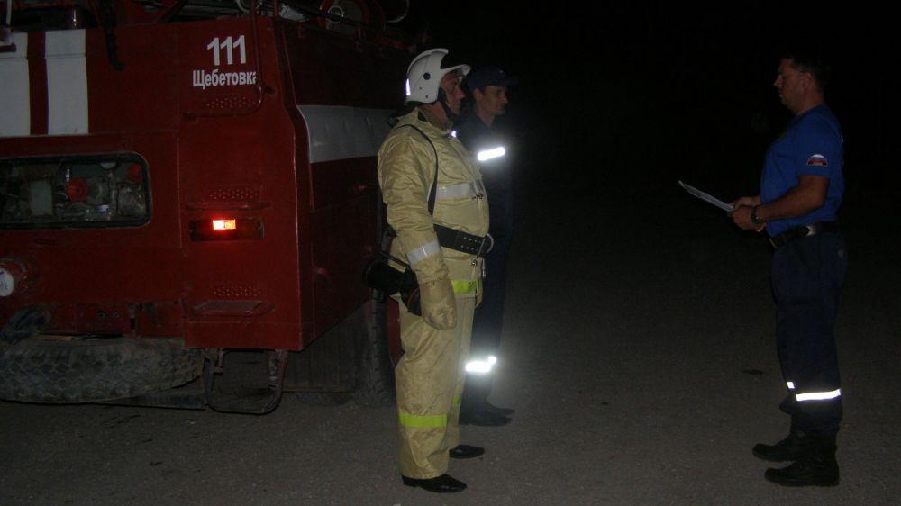 Сотрудники ГКУ РК «Пожарная охрана Республики Крым» продолжают проводить тренировки на социально значимых объектах в зонах своей ответственности