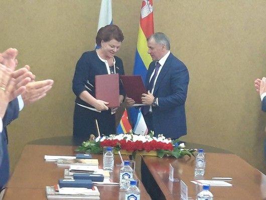 Крым подписал Соглашения о сотрудничестве с Калининградской областью