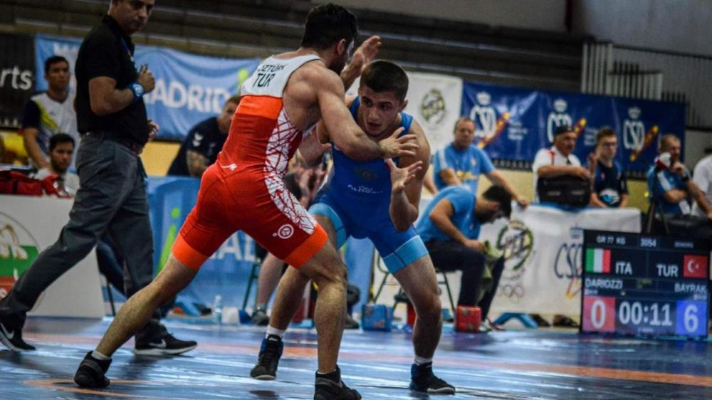Симферопольский борец-классик Эмин Сефершаев выиграл Гран-при Испании