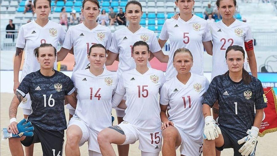 Марина Федорова из Севастополя вновь помогла сборной России выиграть Кубок Европы по пляжному футболу