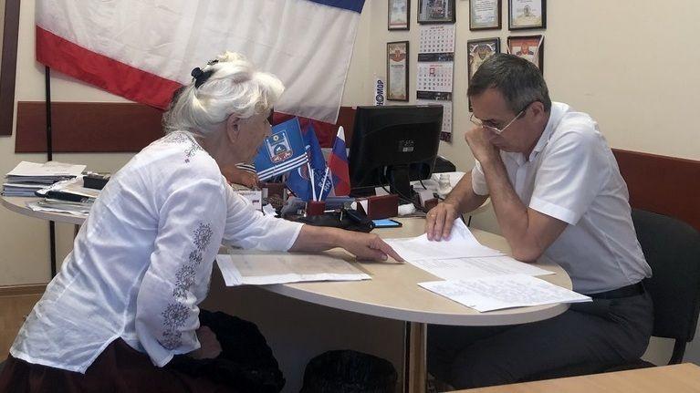 Лери Сванидзе провёл приёмы граждан