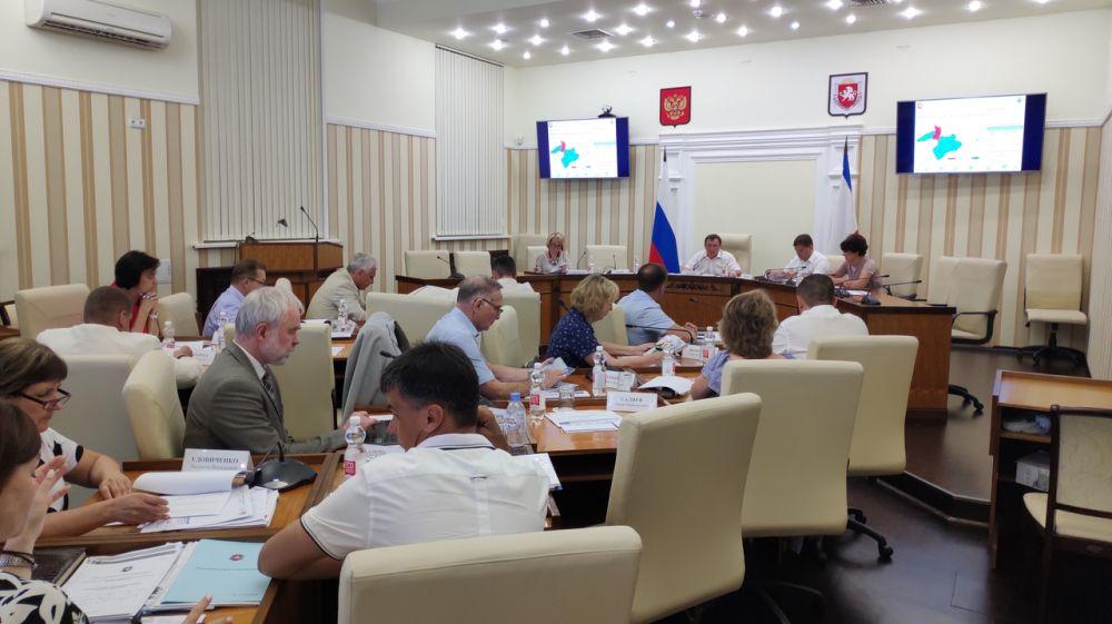 Состоялось заседание научно-технического совета при МинЖКХ Республики Крым