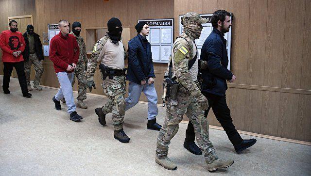 ФСБ завершила расследование дела моряков ВМСУ