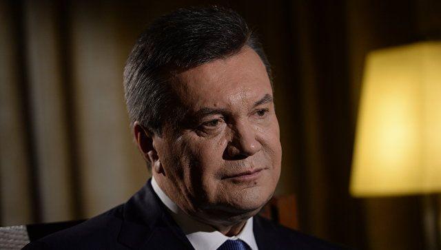 С Януковича сняли санкции