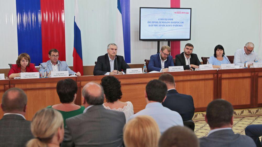 Игорь Вайль принял участие в совещании по проблемным вопросам Бахчисарайского района и города Бахчисарай