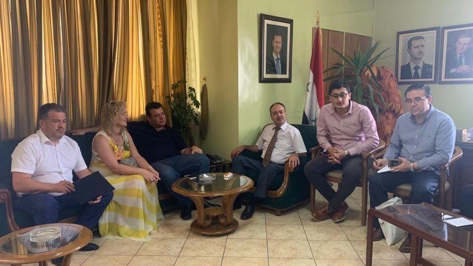 Состоялась бизнес-миссия Республики Крым в Сирийскую Арабскую Республику