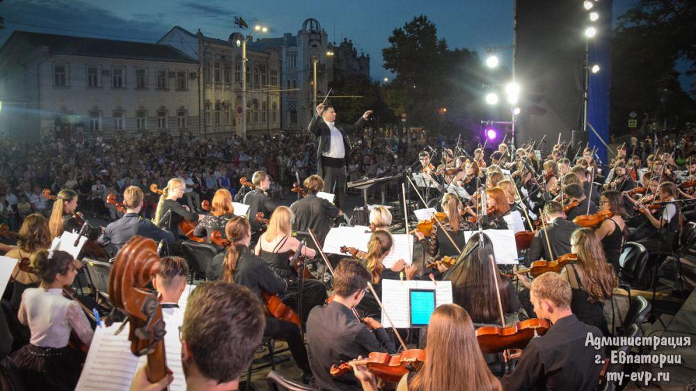 Фестиваль «Еврооркестрия – Крым» завершился масштабным концертом в Евпатории