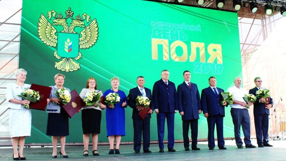 Андрей Рюмшин принял участие в агротехнической выставке «Всероссийский день поля – 2019» в Ленинградской области