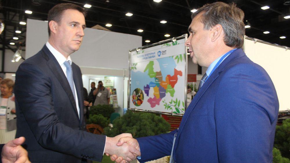 Минсельхоз РК презентовал лучшую крымскую продукцию на XVIII Международной агропромышленной выставке «Агрорусь» - Андрей Рюмшин