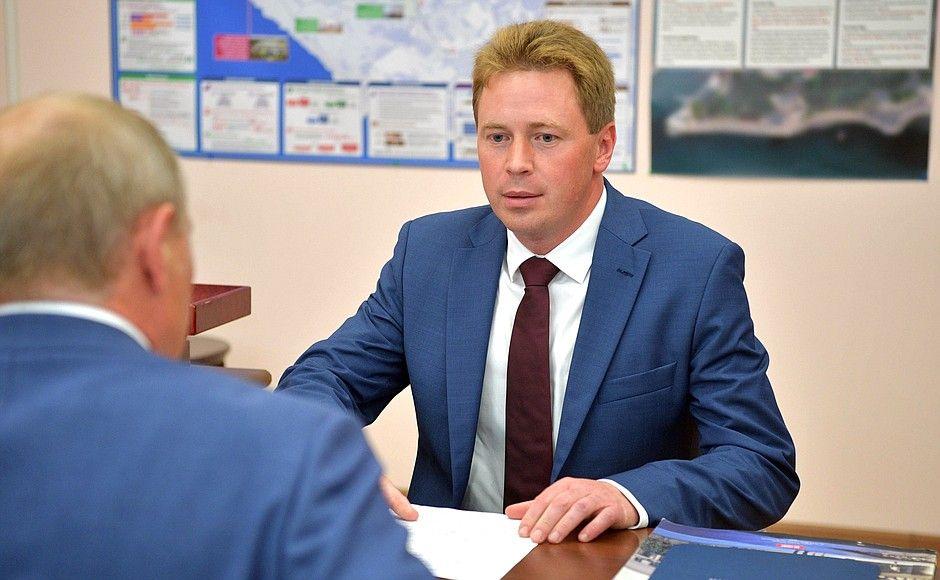Путин принял отставку губернатора Севастополя