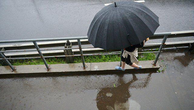 В четверг Крым накроют дожди с грозами