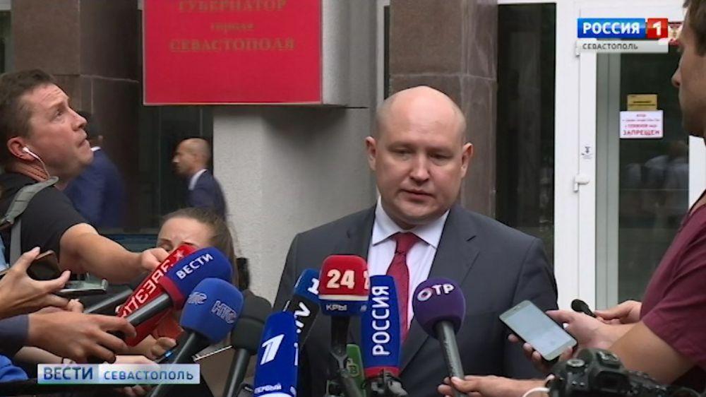 ВРИО губернатора Севастополя рассказал о своей новой команде