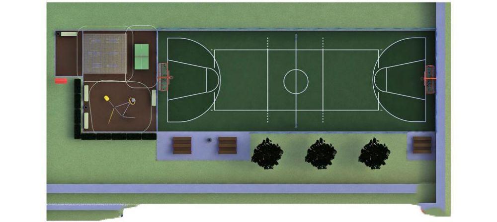 В Ялте обещают до конца года установить 10 новых спортивных площадок