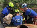 Сотрудники «Крым-Спас» заняли второе место на соревнованиях по многоборью спасателей