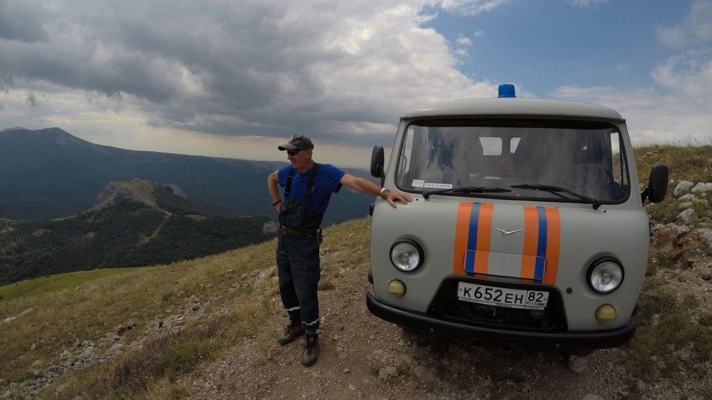 Спасатели «КРЫМ-СПАС» продолжают осуществлять патрулирование туристических троп и стоянок