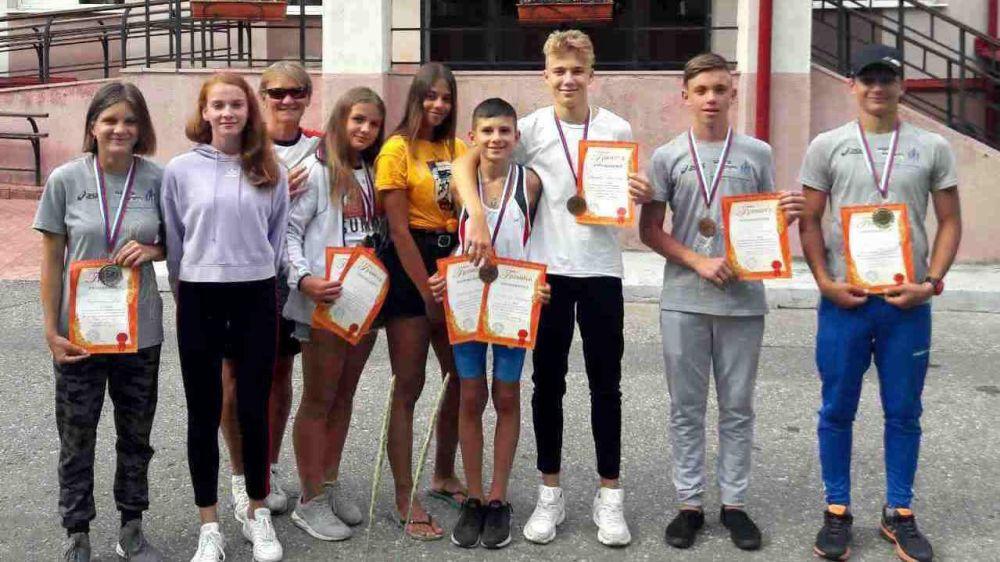 Ялтинские легкоатлеты вновь победили во Всероссийских соревнованиях