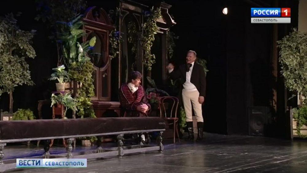 Ростовский театр представил севастопольцам «Женитьбу» Гоголя