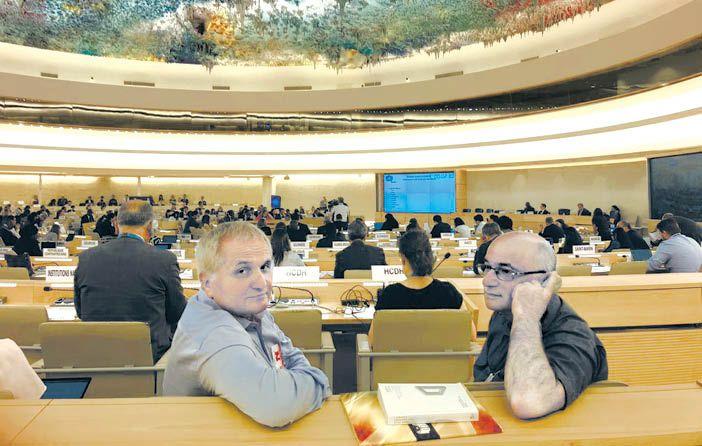 Крымчане на сессии Совета ООН в Женеве защищали интересы своих земляков