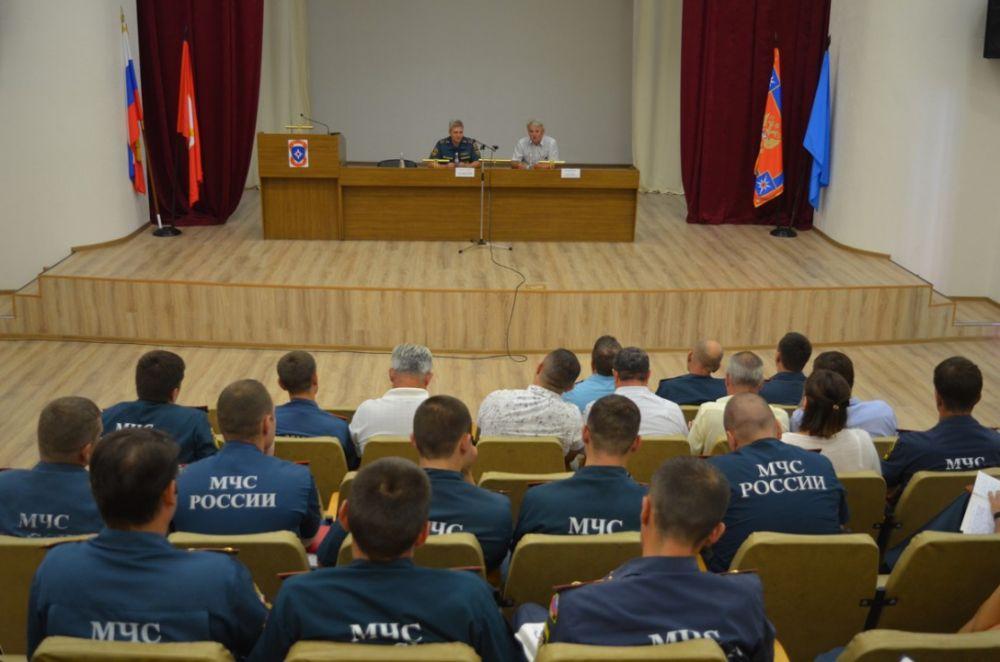 В Севастополе подвели итоги работы подсистемы РСЧС за пол года