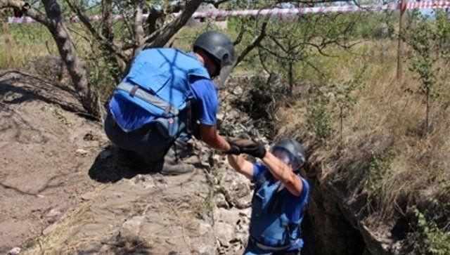 """С особым риском: в крепости """"Керчь"""" нашли более 600 боеприпасов"""