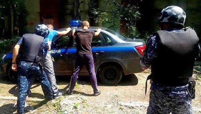 В Крыму дагестанцы пытались в чемоданах вынести телевизоры из гипермаркета