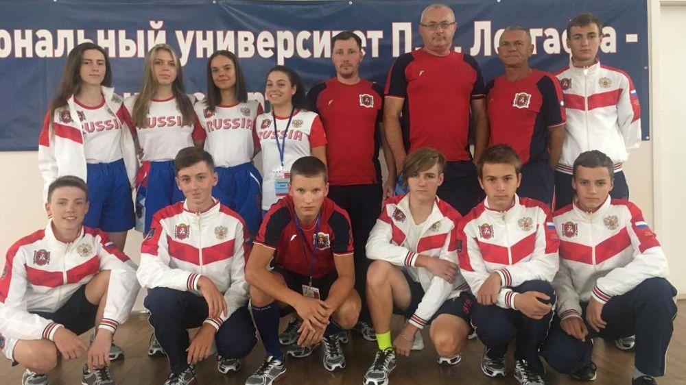 Крымские сумотори привезли медали из Новороссийска