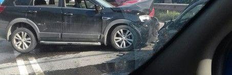Массовое ДТП парализовало движение по трассе Симферополь-Алушта