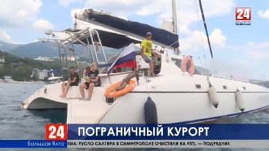 В два раза сократилось количество нарушений пограничного режима за последние три года на Южном берегу Крыма