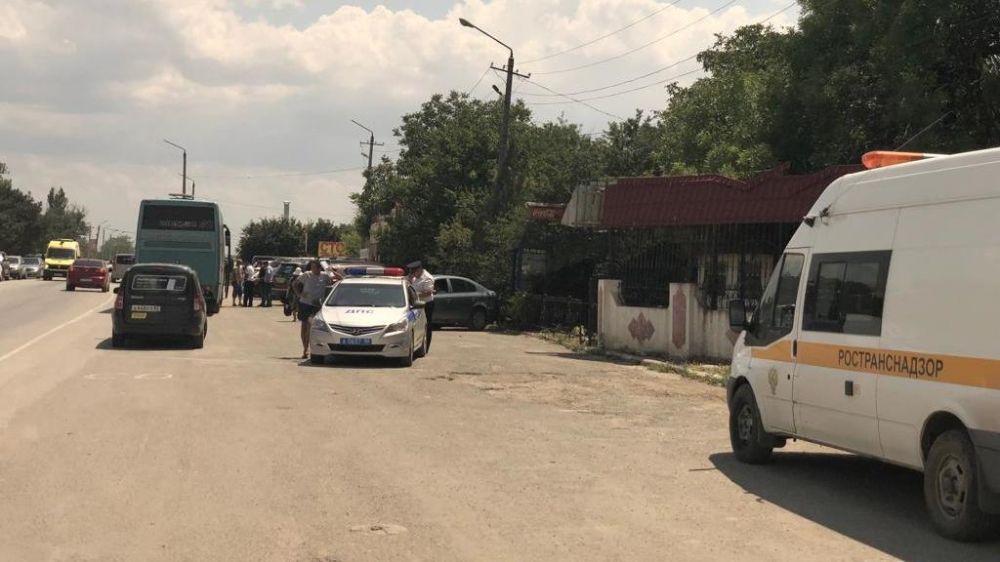 Министерство транспорта Республики Крым проверило работу перевозчиков в Сакском районе