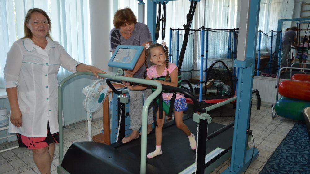 В Многопрофильном комплексном реабилитационном центре для детей-инвалидов г. Евпатория состоялся первый заезд детей-инвалидов с заболеваниями центральной нервной системы, опорно-двигательного аппарата, расстройствами аутистического спектра