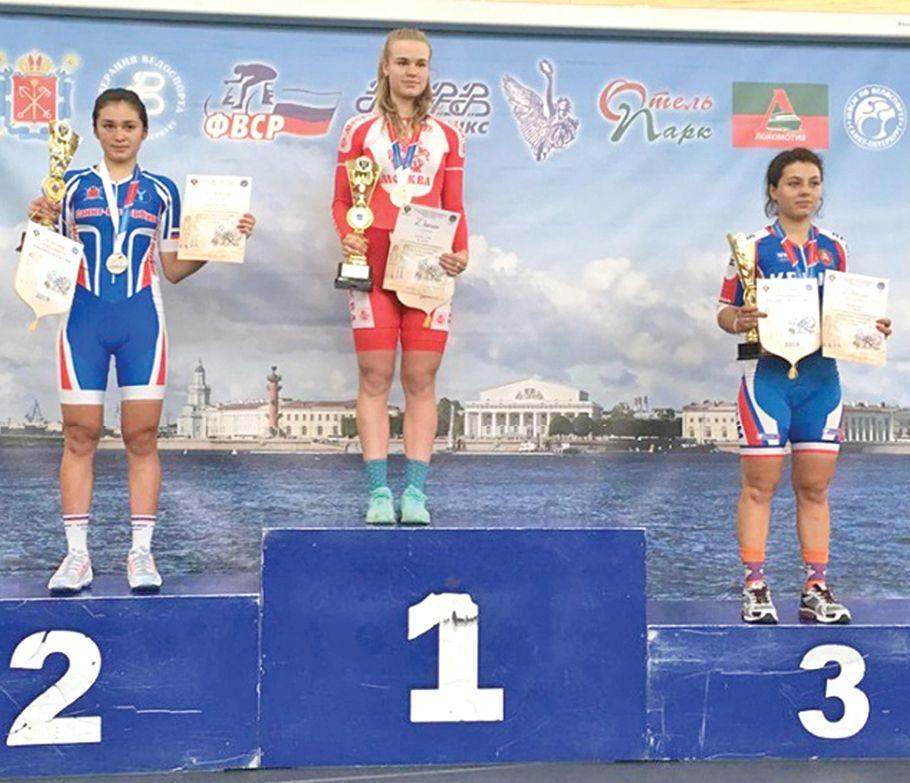 Крымские велосипедисты вернулись со спартакиады школьников России