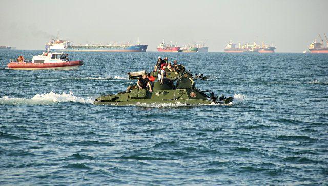 Дорогой победителей: как бронемашины форсировали Керченский пролив