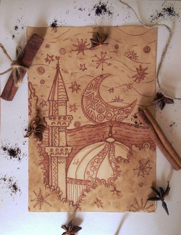 Мастер-класс по рисованию кофе на акварельной бумаге проведут в Бахчисарае 21 июля