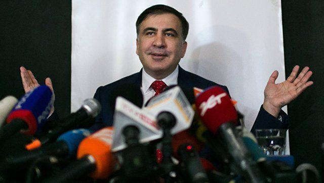 Саакашвили решил поддержать партию Зеленского