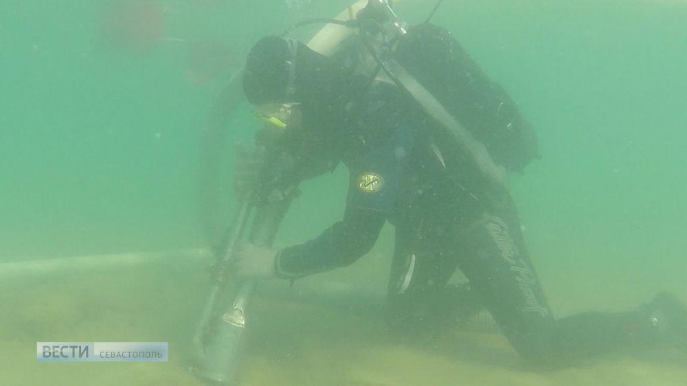 Подводная экспедиция изучает античный полис Акра в Крыму
