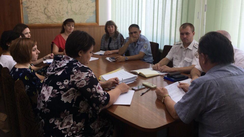 Заседание рабочей группы по обеспечению наполняемости бюджета района