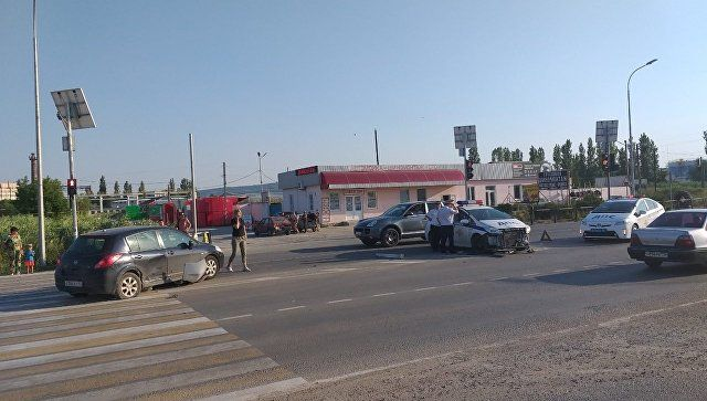 В погоне за нарушителем: подробности ДТП с полицейской машиной в Феодосии