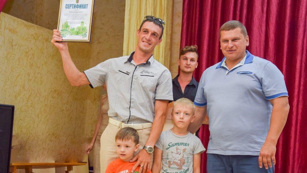 Марафон чистоты – еще 50 дворов получили сертификаты на благоустройство