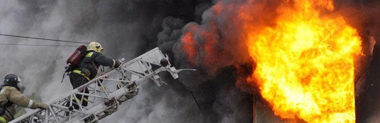 На выходных в Симферополе горела квартира в многоэтажке