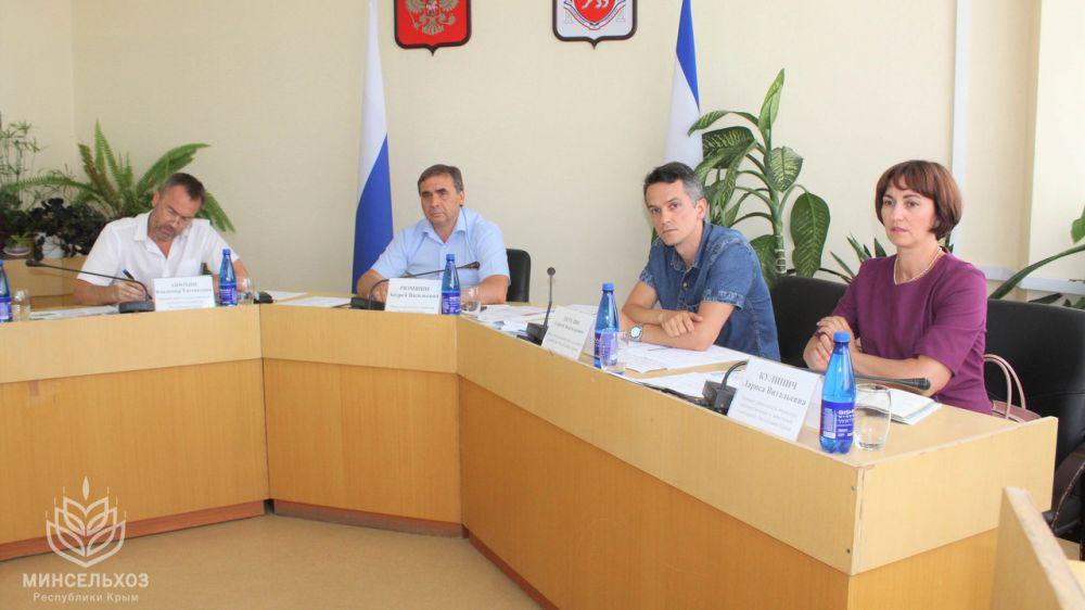 Минсельхоз Крыма провел заседание рабочей группы по совершенствованию земельного законодательства