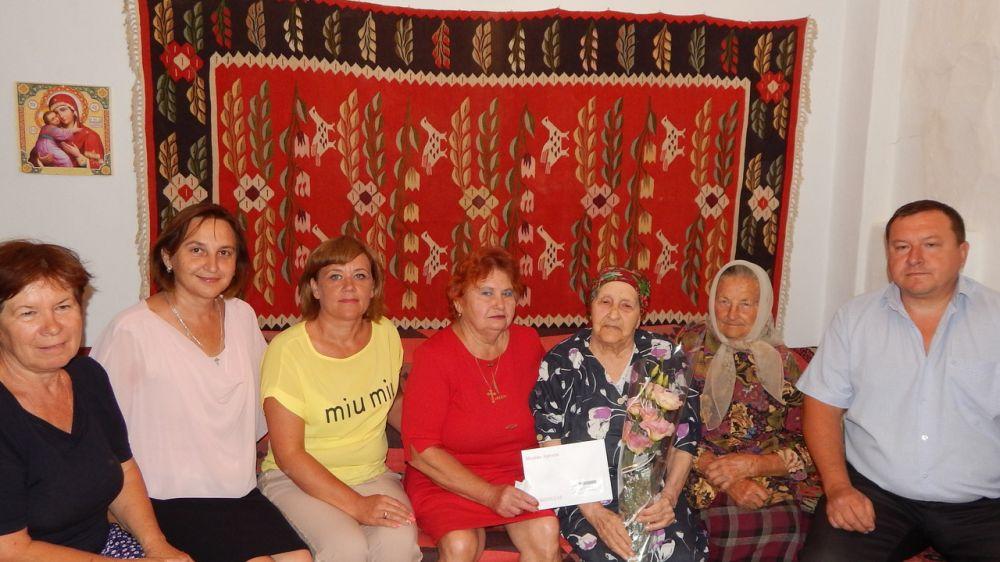 95-летний юбилей отметила жительница Нижнегорского района с.Лиственное
