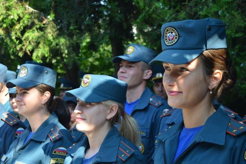 На службу МЧС в Севастополь прибыли 7 молодых специалистов