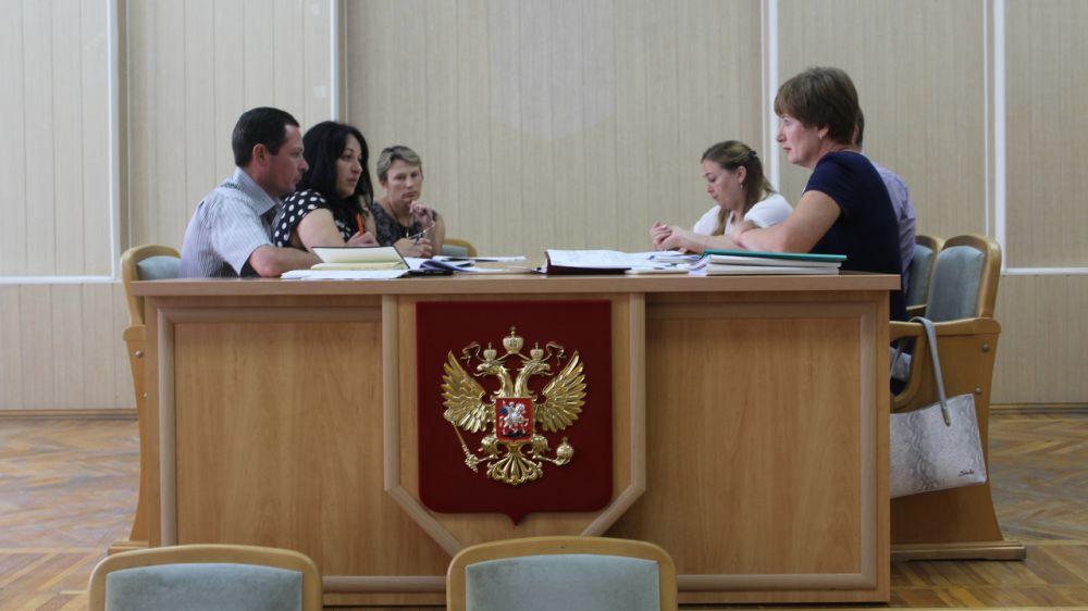 Состоялась рабочая встреча представителей администрации Симферопольского района и Межрайонной ИФНС № 5 по Республике Крым