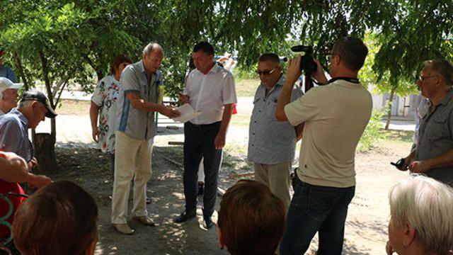 Сергей БОРОЗДИН провел встречу с жителями улицы КАВКАЗСКОЙ