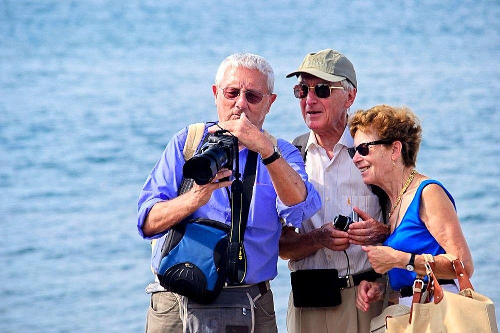 В Крым потянулись туристы из Австралии и Европы