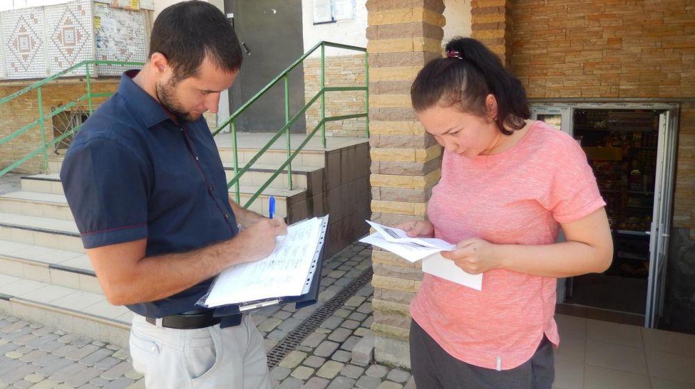 В селе Перевальное-4 (военный городок) проведена информационно-разъяснительная работа по вопросам доступности объектов и оказываемых услуг для инвалидов